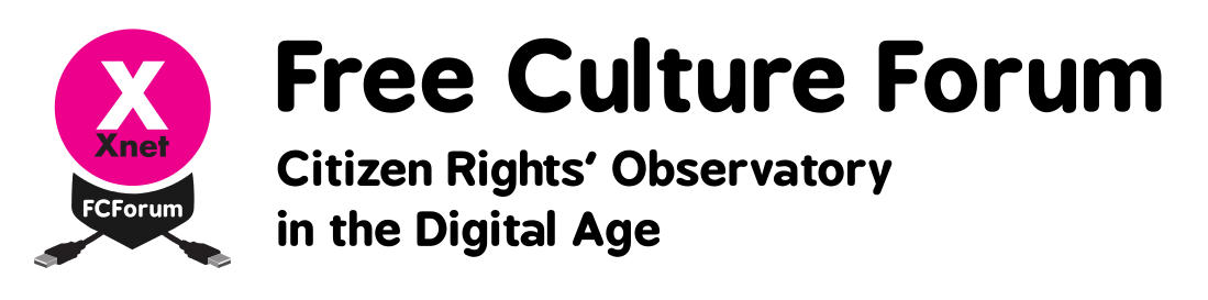 Free Culture Forum: Citizen Rights' Observatory in the Digital Age